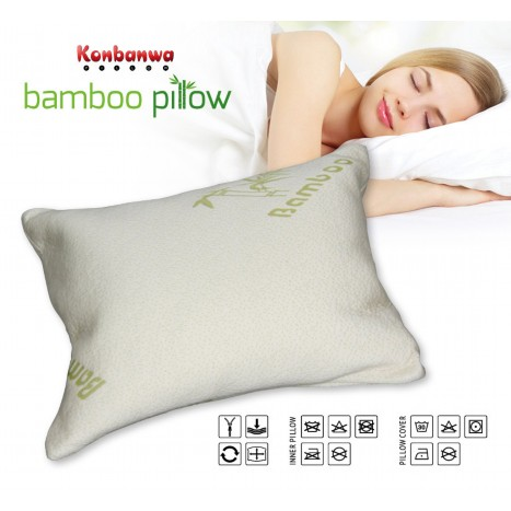 Konbanwa Bamboo Pillow